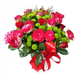 Róże i santini...